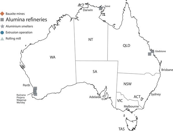 Australian Alumina | The Australian Aluminium Council